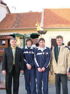 Lengyel Lajos bácsi is megismerte a fiúkat.